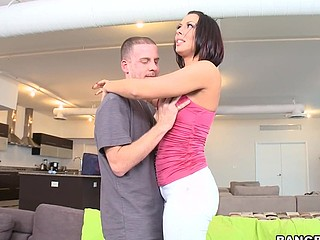 Rachel Starr is one sexy mam I'd like to fuck. That Babe's definitely a mamma that many would love to fuck on a daily basis. This playgirl has huge marangos, and a chubby soaked butt. On this update of Mother I'd Cognate with To Fuck Soup, Rachel Starr gets the absolute pleasure of having Tony fuck her like that babe likes it. Tony is one juvenile stud that's been graving a mam I'd like to fuck for weeks. Rachel took the pecker like a pro. Letting Tony go eager on that muff on multiple position till that babe lip-service take it anymore. Have A Fun it cause its some hawt stuff!